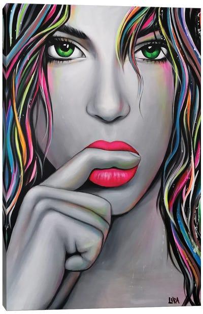 Seduction Canvas Art Print