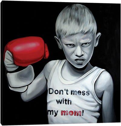 Mamas Boy Canvas Art Print