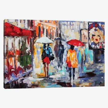 City Life V 3-Piece Canvas #NTX12} by Natxa Canvas Art Print