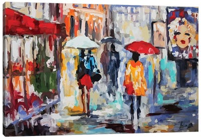 City Life V Canvas Art Print