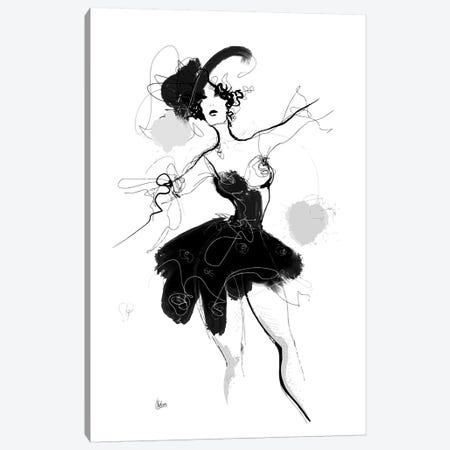 Dancer Canvas Print #NTX15} by Natxa Canvas Art