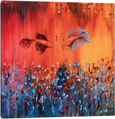 Deep Water Canvas Art Print