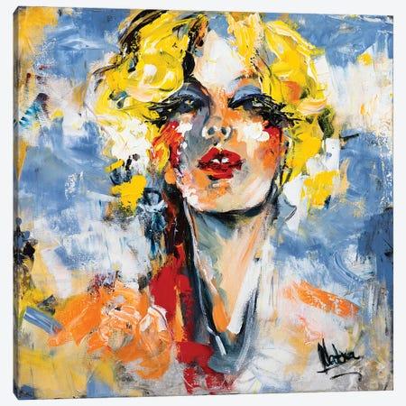 Diva Canvas Print #NTX18} by Natxa Canvas Print
