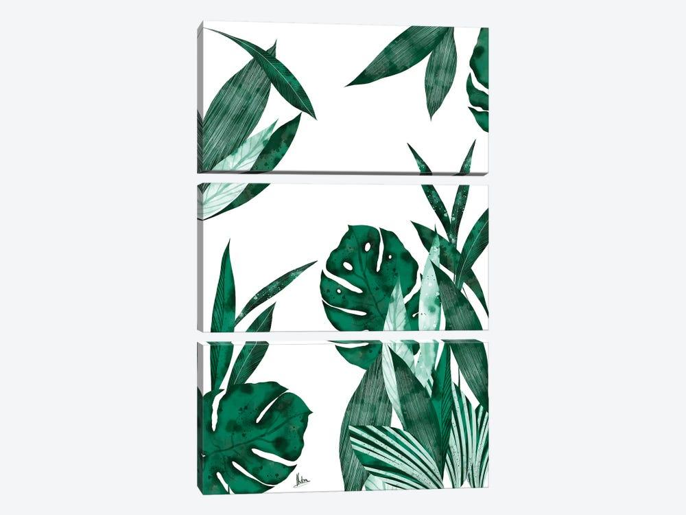 Evergreen I by Natxa 3-piece Canvas Art Print