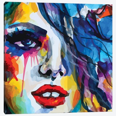 Girl Canvas Print #NTX22} by Natxa Canvas Wall Art