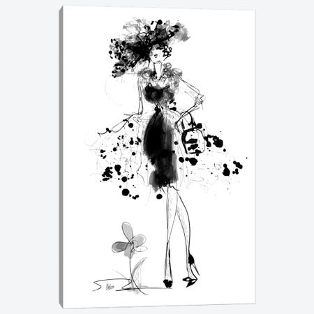 Glamour Canvas Print #NTX23} by Natxa Canvas Art