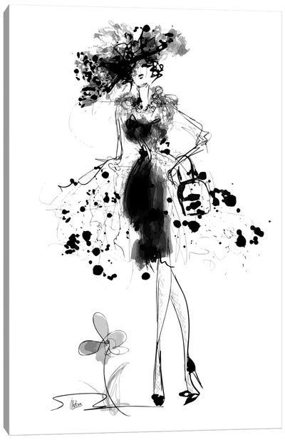 Glamour Canvas Art Print