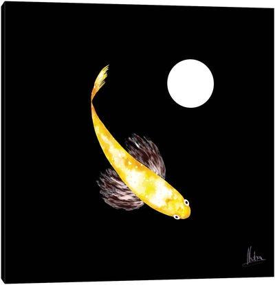 Goldfish Yellow Canvas Art Print