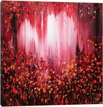 Berry Juice Canvas Art Print