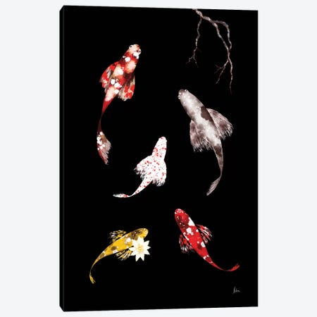 Koi III Canvas Print #NTX30} by Natxa Art Print