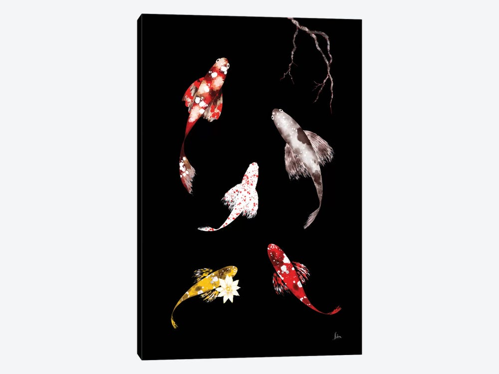 Koi III by Natxa 1-piece Canvas Artwork