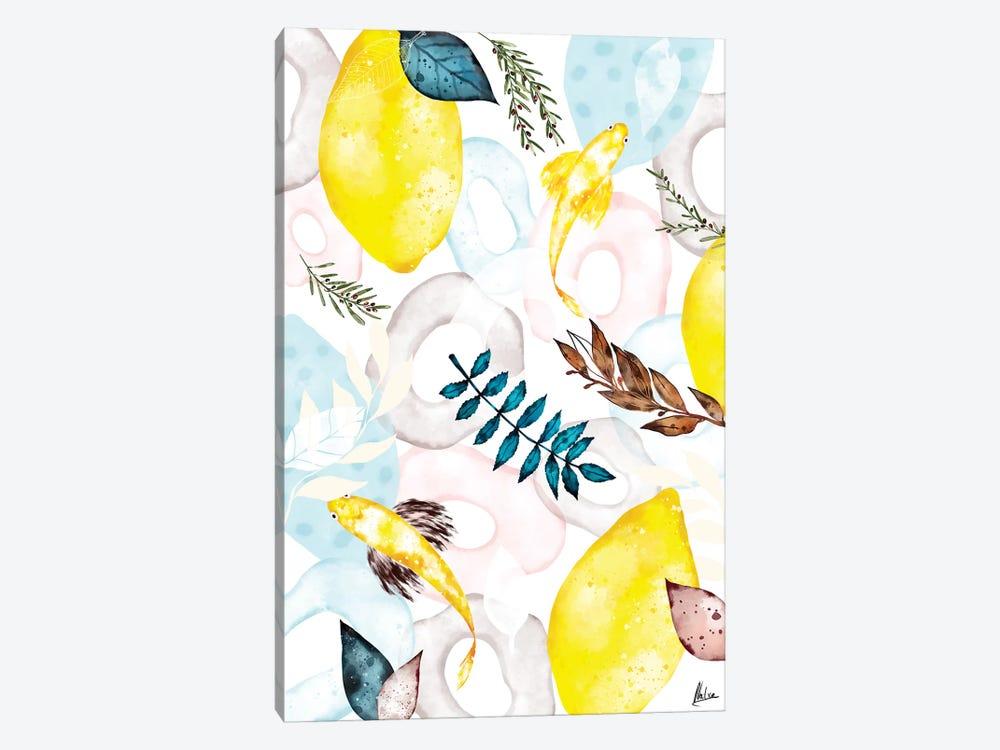 Lemons I by Natxa 1-piece Art Print