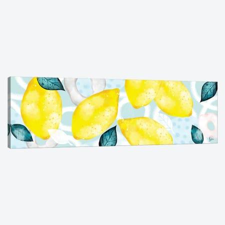 Lemons III Canvas Print #NTX39} by Natxa Canvas Art Print