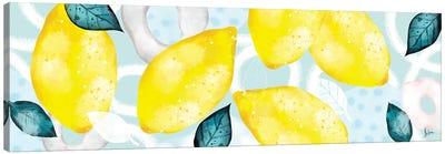 Lemons III Canvas Art Print