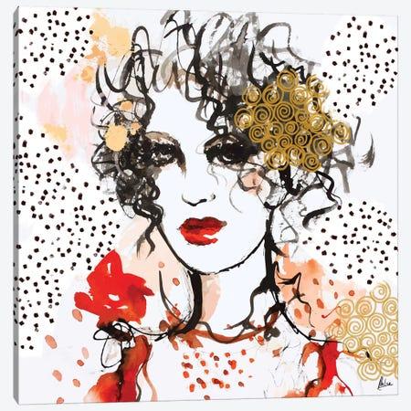 Mademoiselle Canvas Print #NTX41} by Natxa Canvas Artwork