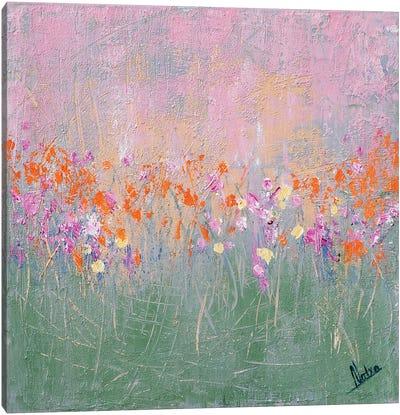 Mint Garden Canvas Art Print