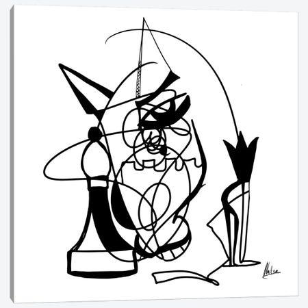 Chess Canvas Print #NTX4} by Natxa Canvas Wall Art