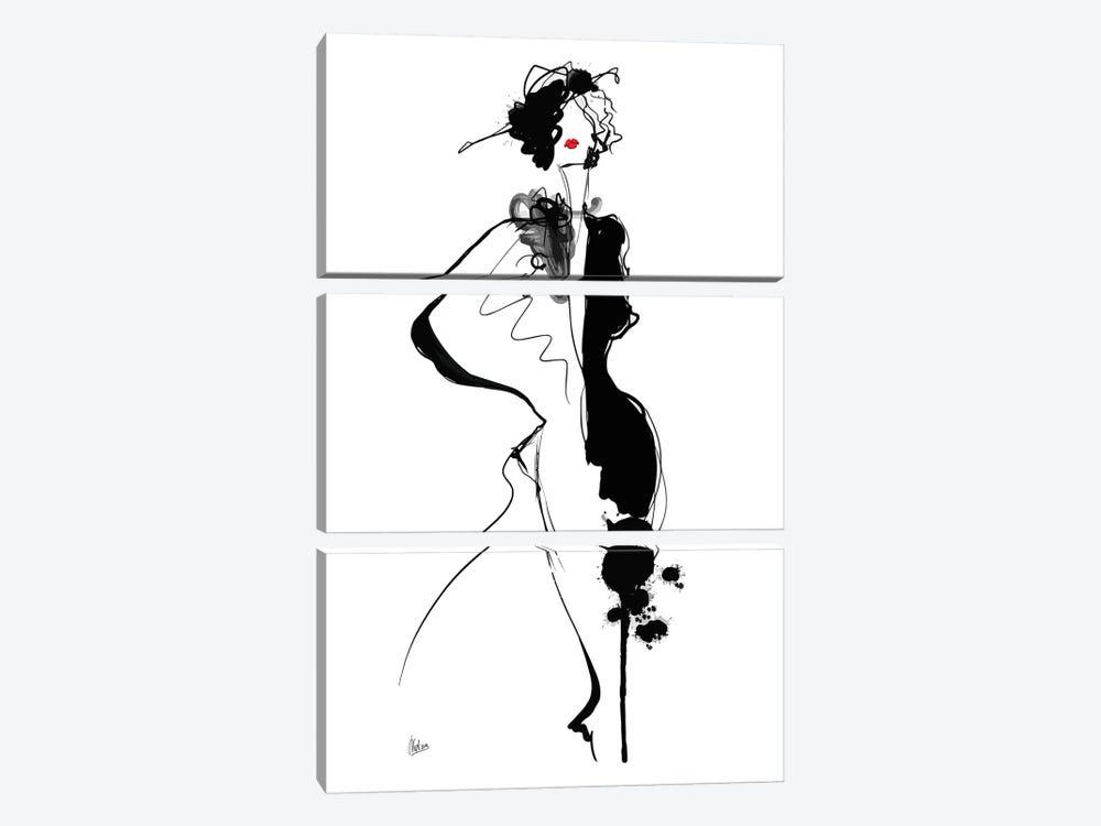 Parisienne by Natxa 3-piece Art Print