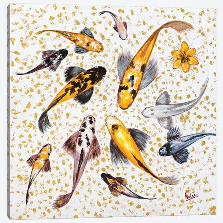 Porcelain Canvas Print #NTX54} by Natxa Canvas Artwork