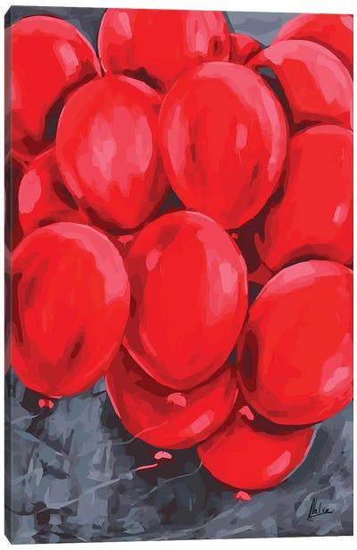 Red Balloons Canvas Art Print