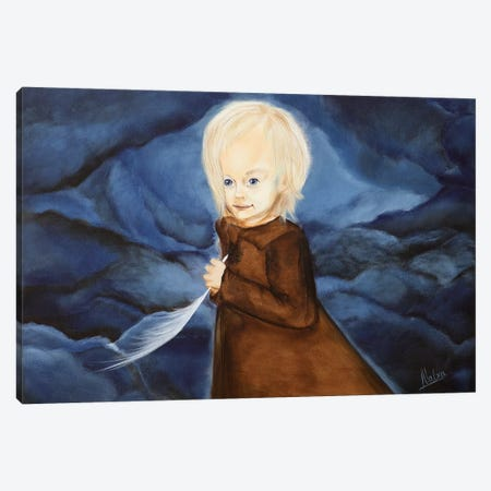 Remember Canvas Print #NTX57} by Natxa Canvas Artwork