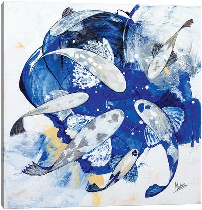 Royal Blue I Canvas Art Print