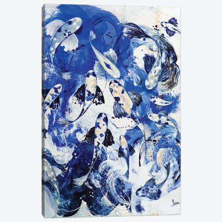 Royal Blue IV Canvas Print #NTX61} by Natxa Canvas Artwork