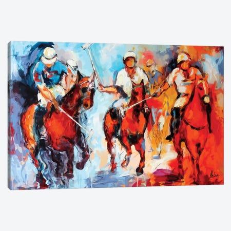 Royal Games Canvas Print #NTX62} by Natxa Canvas Art
