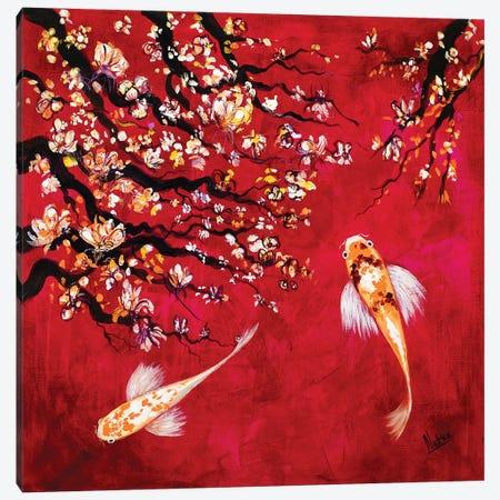 Sakura I Canvas Print #NTX63} by Natxa Canvas Artwork