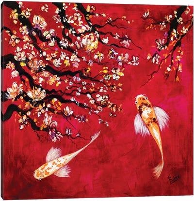 Sakura I Canvas Art Print