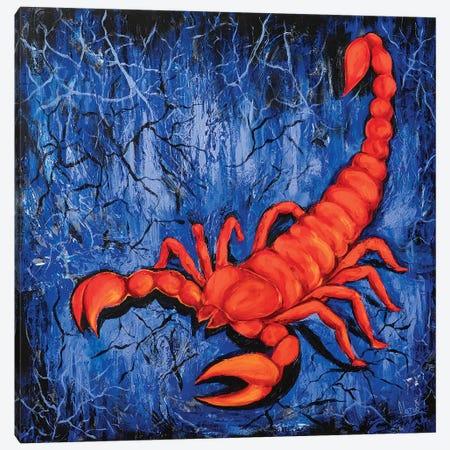 Scorpio Canvas Print #NTX65} by Natxa Art Print