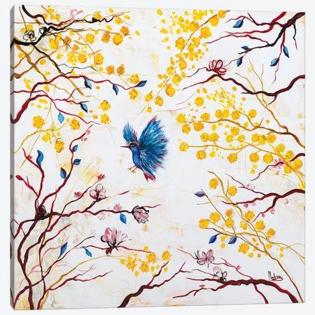 Spring Canvas Print #NTX69} by Natxa Canvas Artwork