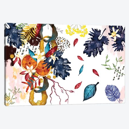 Tropical III Canvas Print #NTX75} by Natxa Canvas Wall Art