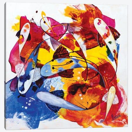 Tropical Koi I Canvas Print #NTX76} by Natxa Canvas Wall Art