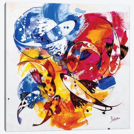 Tropical Koi II Canvas Print #NTX77} by Natxa Canvas Artwork
