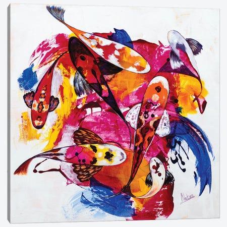 Tropical Koi III Canvas Print #NTX78} by Natxa Canvas Art Print
