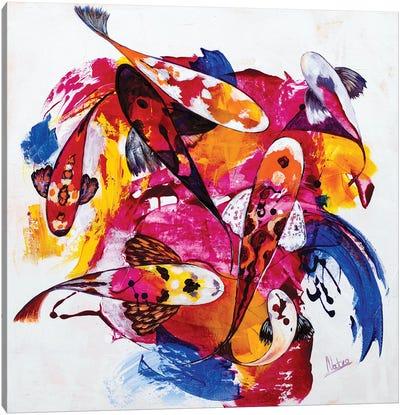 Tropical Koi III Canvas Art Print