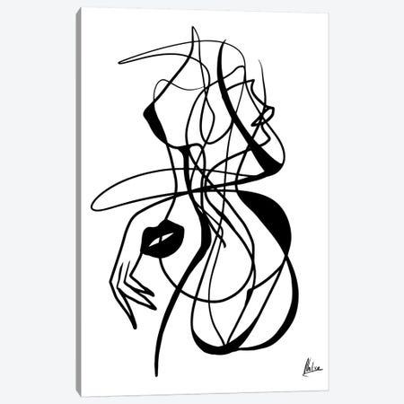Woman I Canvas Print #NTX80} by Natxa Canvas Wall Art