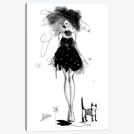 Black And White Canvas Print #NTX82} by Natxa Canvas Art