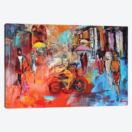 City Life II 3-Piece Canvas #NTX9} by Natxa Canvas Print