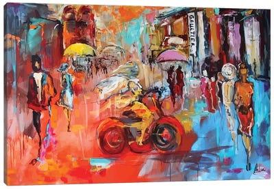 City Life II Canvas Art Print