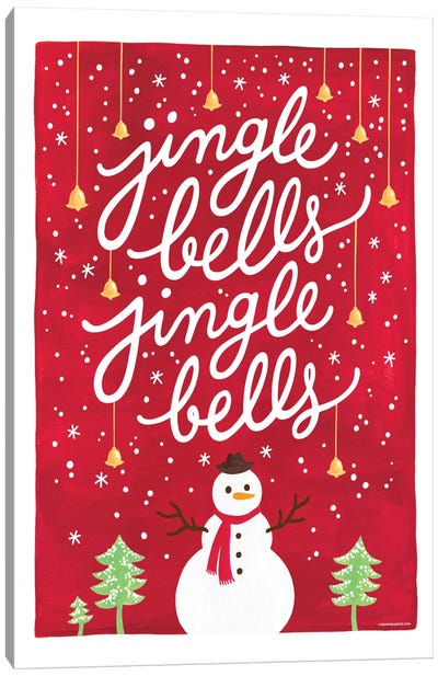 Jingle Bells I Canvas Art Print