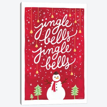 Jingle Bells I Canvas Print #NUR11} by Nour Tohmé Canvas Artwork