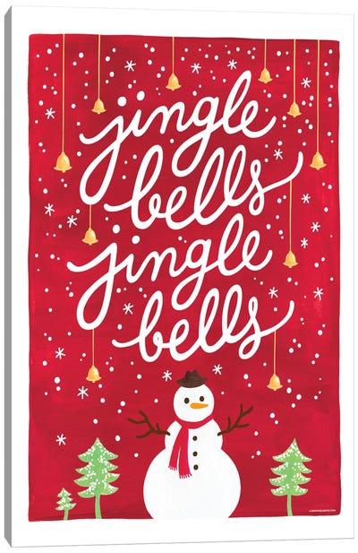 Jingle Bells I Canvas Art Print