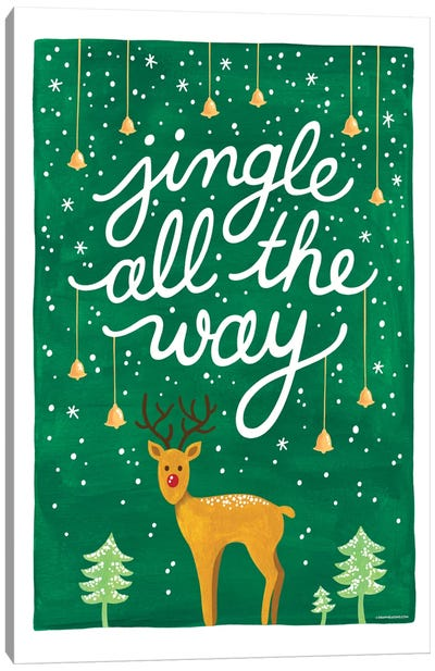 Jingle Bells II Canvas Art Print