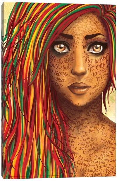 No Woman Canvas Print #NUR14