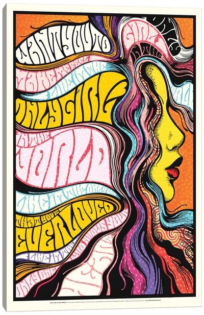 Only Girl Canvas Print #NUR15