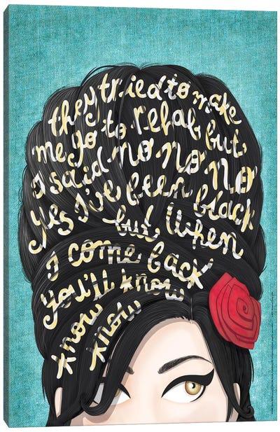 Rehab Canvas Art Print