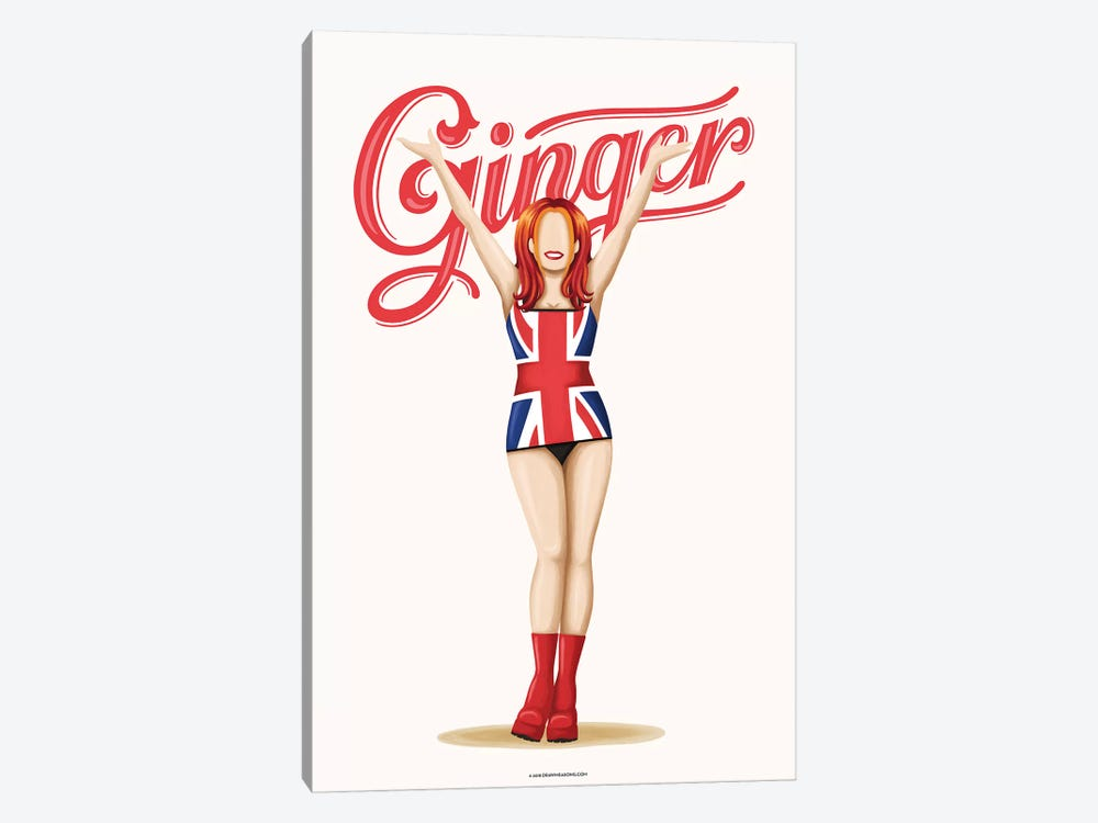 Ginger by Nour Tohmé 1-piece Canvas Art Print