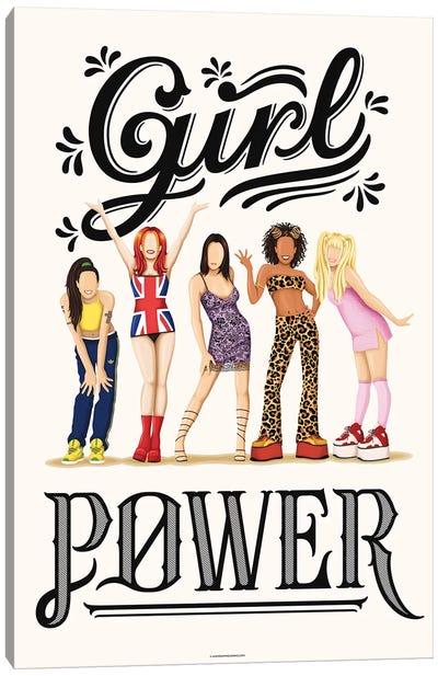 Girl Power Canvas Art Print